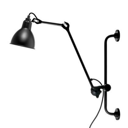 Lampe Gras 210 Væglampe Sort fra DCW Éditions