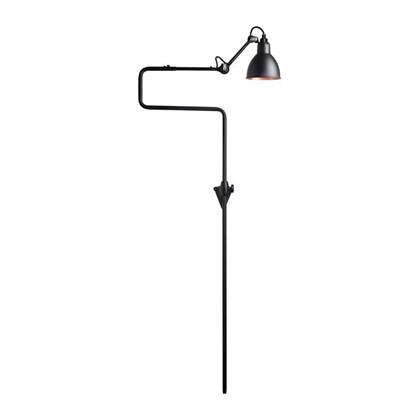 Lampe Gras 217 Væglampe Sort - Kobber fra DCW Éditions