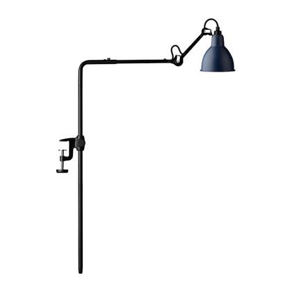 226 Bordlampe/Reol Lampe Blå  - Lampe Gras