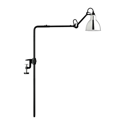 Lampe Gras 226 Bookshelf Lampe Sort - Krom fra DCW Éditions