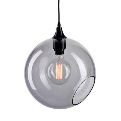 Ballroom Pendel Lampe - Røgfarvet/sølv - Design By Us