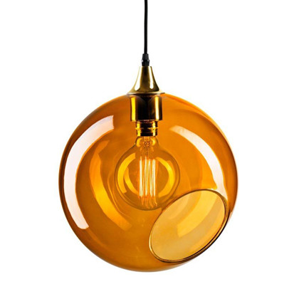 Ballroom Pendel Lampe - Amber/guld - Design By Us