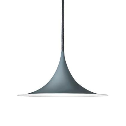 Semi Pendel Lampe Ø30 - Blank Antrasit Grå - Gubi