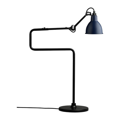 Lampe Gras 317 Bordlampe Sort - Blå fra DCW Éditions