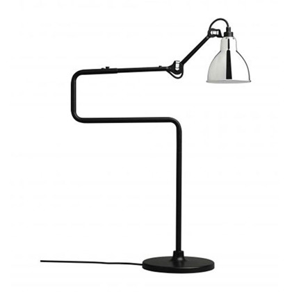 Lampe Gras 317 Bordlampe Sort - Krom fra DCW Éditions