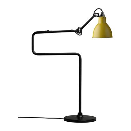 Lampe Gras 317 Bordlampe Sort - Gul fra DCW Éditions