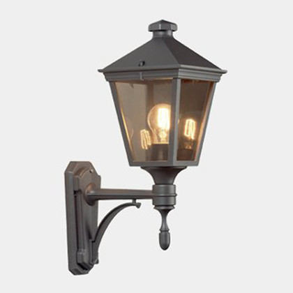 Torino Udendørs Væglampe Model A fra Noral