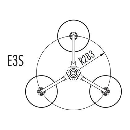 Trumpet Stolpe Model ES3 fra Noral