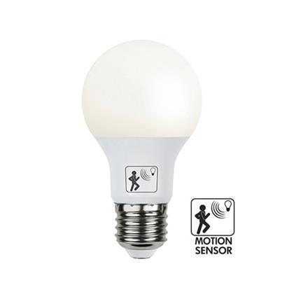 SMART LED M/SKUMRINGS/BEVÆGELSES SENSOR LEDpære - Globen Lighting