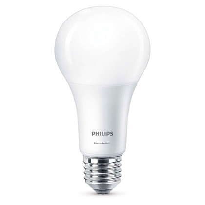 Pære LED 3,5-7-14W Sceneswitch (150/600/1521lm) E27 - Philips