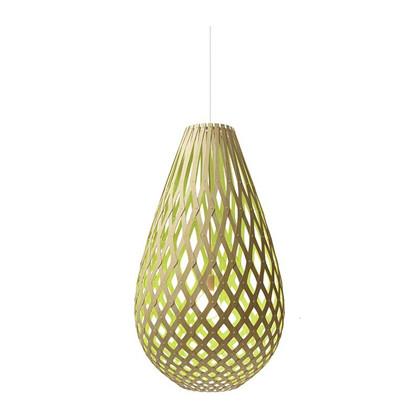 Koura Lime pendel Lampe fra David Trubridge