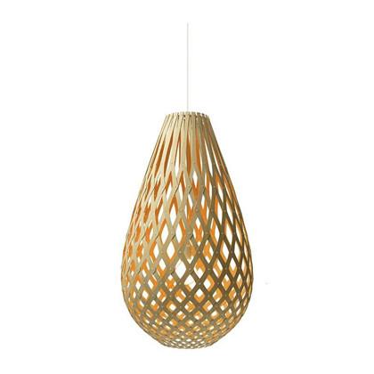 Koura Orange pendel Lampe fra David Trubridge