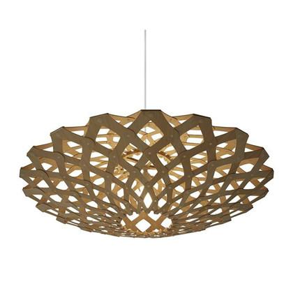 Flax Natural pendel Lampe - David Trubridge