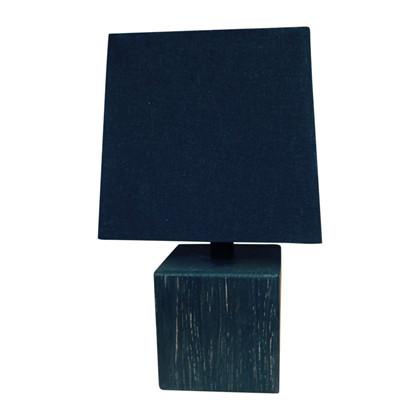 WOOD Table Square glat - eg sort - sort Bordlampe - KS