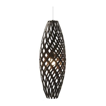 Hinaki Pendel Black Lampe fra David Trubridge