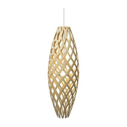 Hinaki Pendel natural Lampe fra David Trubridge