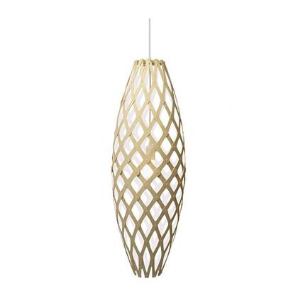 Hinaki Pendel white Lampe fra David Trubridge