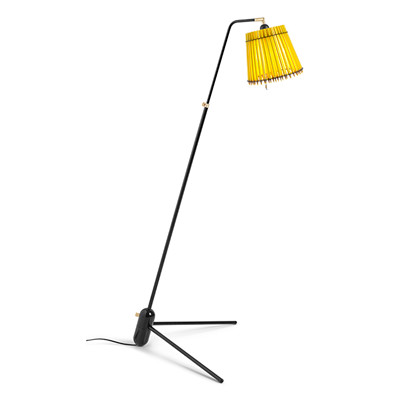 Pencil Lamp Gulvlampe Sort stel fra Tom Rossau