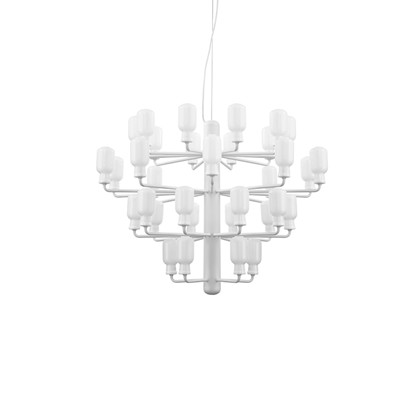 Amp Chandelier Large White - Normann Copenhagen