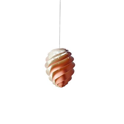 Swirl CP2 Kobber Pendel Lampe - Small - Le Klint
