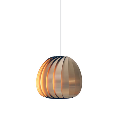TR12 Copper Brushed Alu Pendel Lampe fra Tom Rossau