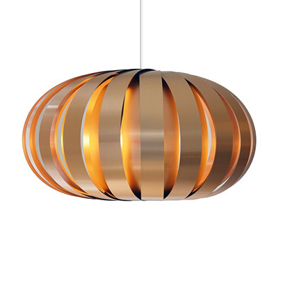 ST907 Copper Brushed Alu Pendel Lampe - Tom Rossau