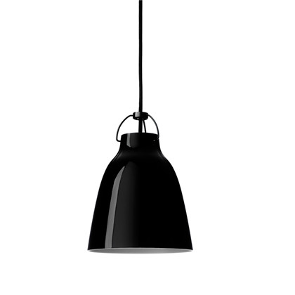 Caravaggio P0 Pendel Lampe Black/Black - Light Years