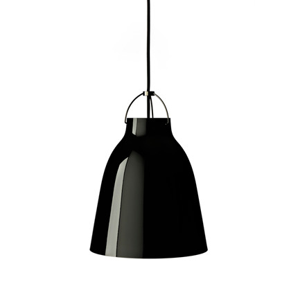 Caravaggio P4 Pendel Lampe - Black/Black - Light Years