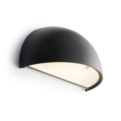 Rørhat Udendørs Væglampe Sort - Light-Point