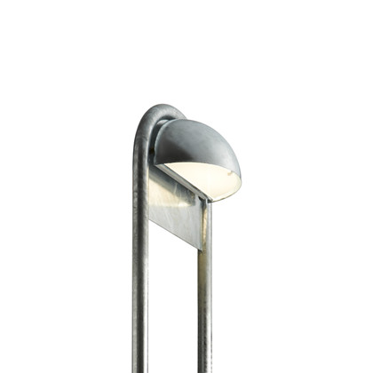 Rørhat Udendørs Stander Enkel - 70 cm Galvaniseret - Light-Point
