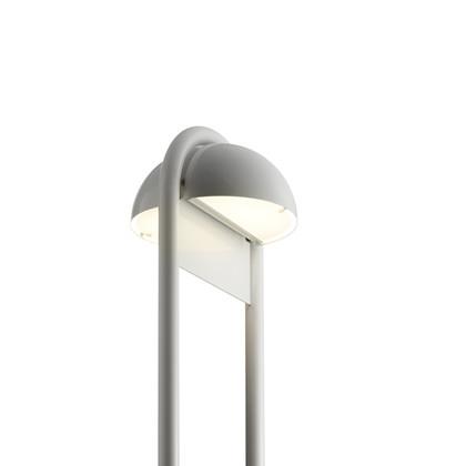 Rørhat Udendørs Stander Dobbelt - 70 cm Hvid - Light-Point