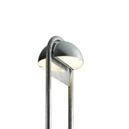 Rørhat Udendørs Stander Dobbelt - 70 cm Galvaniseret - Light-Point