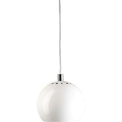 Ball Pendel Blank Hvid - Frandsen