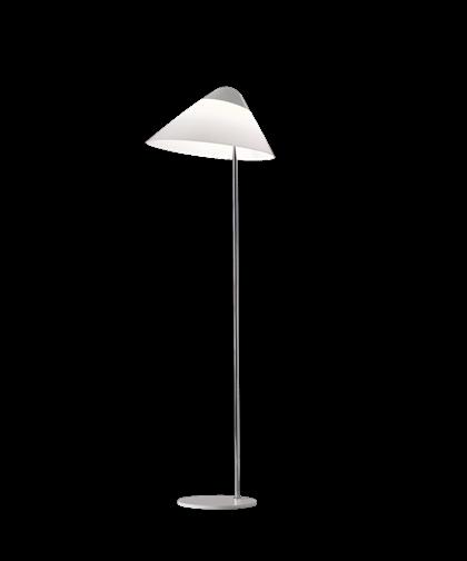Opala Midi Gulvlampe u/Dimmer Sort & Krom - Pandul