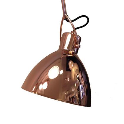 Focus Pendel lampe stor – kobber fra Seeddesign