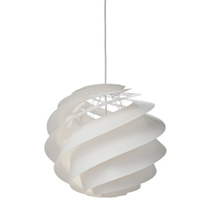 Swirl 3 Pendel Medium Hvid - Le Klint