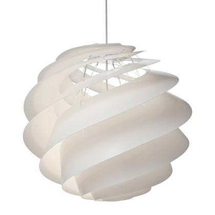 Swirl 3 Pendel Large Hvid  - Le Klint