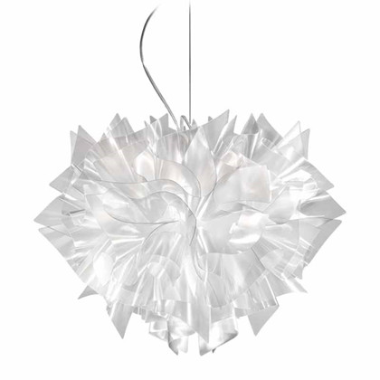 Veli Prisma Pendel lampe fra italienske Slamp