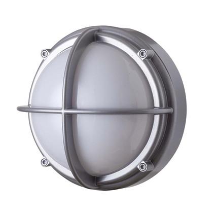 Skot LED Væglampe - Uafskærmet Opalt Glas