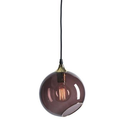 Ballroom XL Pendel Lampe - Purple Rain/guld - Design By Us