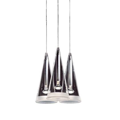 Fucsia Pendel Lampe fra Flos