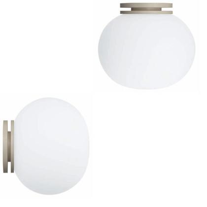 Mini Glo-Ball CW Væglampe fra Flos