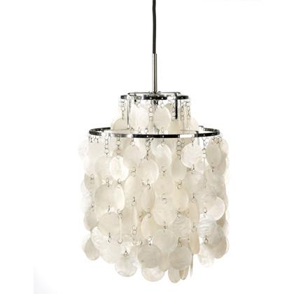 Fun 2 DM Pendel lampe design Verner Panton