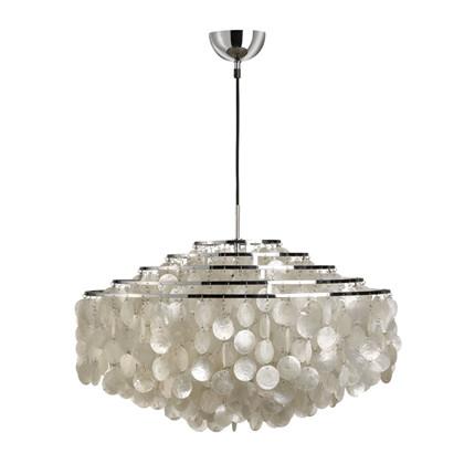 Fun 11 DM Pendel lampe design Verner Panton