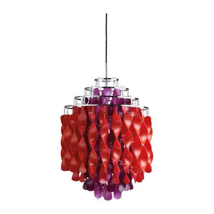 Spiral SP01 Multi color pendel lampe design Verner Panton
