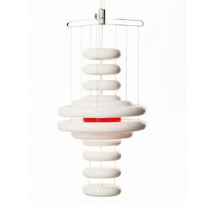 ufo pendel verner panton lamper online. Black Bedroom Furniture Sets. Home Design Ideas