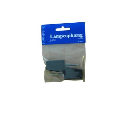 Lampeophæng 2-pak - sort