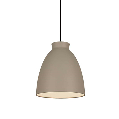 Milano 14 Pendel Lampe Mat grå - DybergLarsen