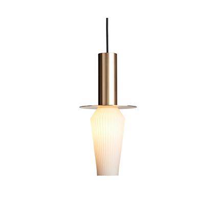 Harakiri Pendel Gold/Opal - Design By Us