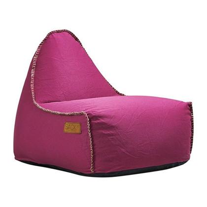 RETROit Canvas Sækkestol - Pink fra SACKit